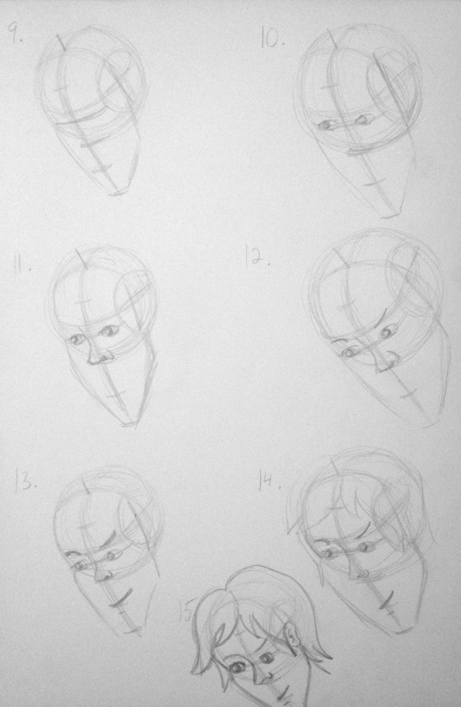 Head Structure Tutorial - Part 2