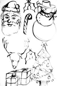 Christmas Eve Doodles