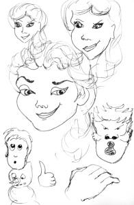 Elsa Doodles