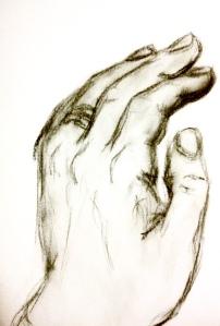 Hand of Infinite Scribbles